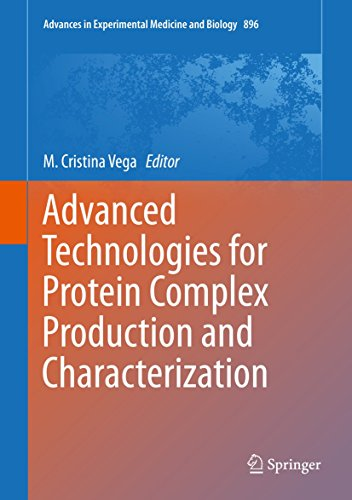 Advanced Technologies for Protein Complex Production and Characterization (2016 Springer Book)