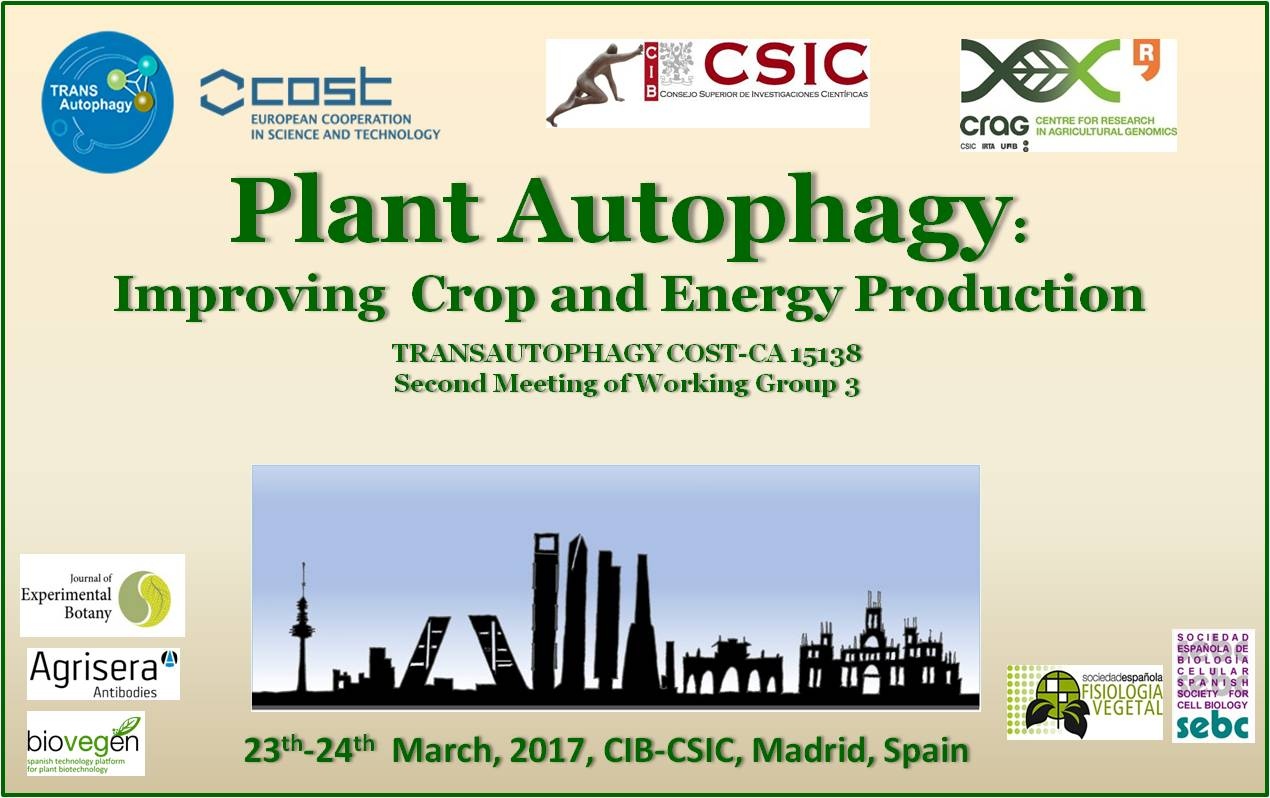 Plant autophagy meeting was held at CIB