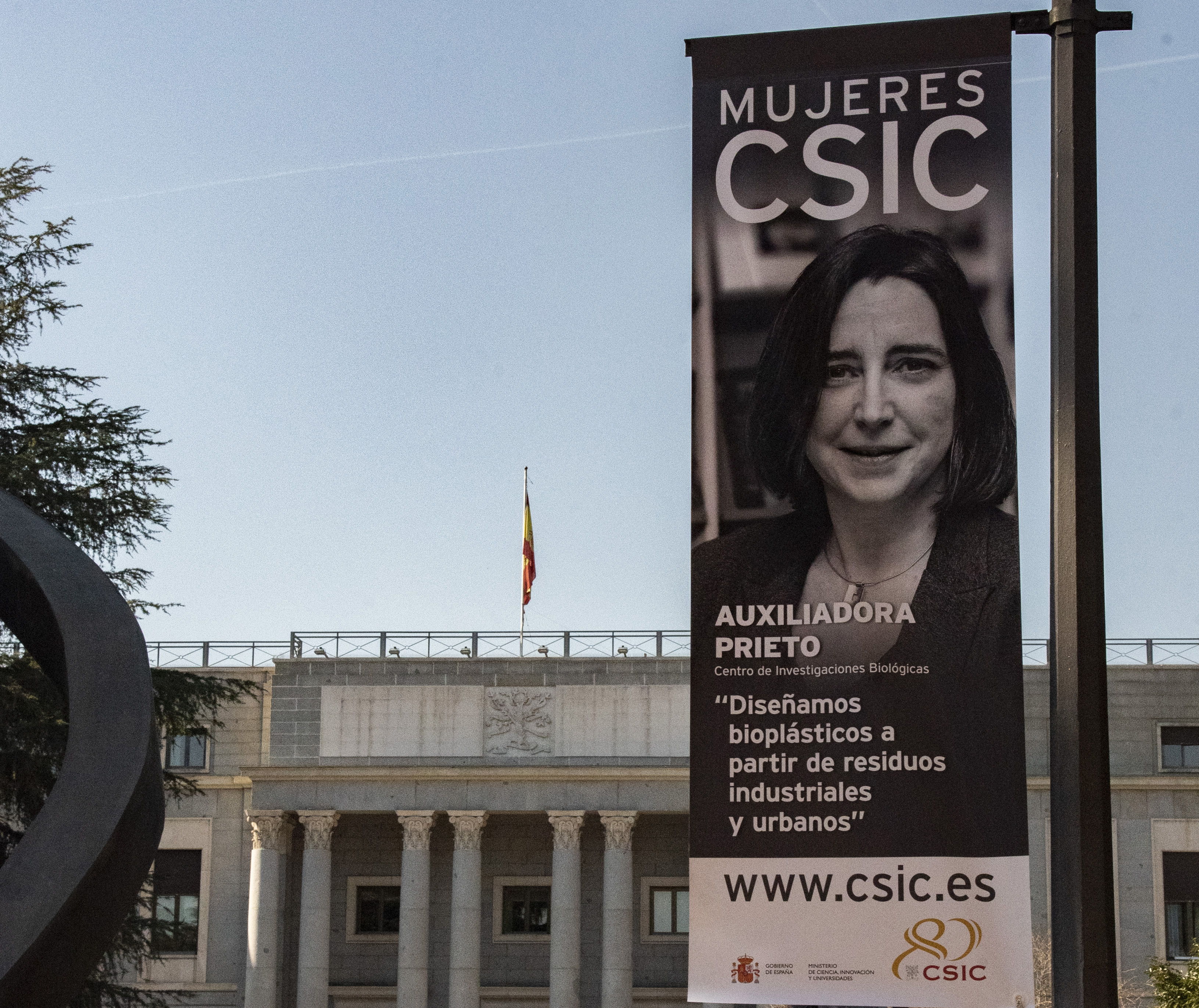 Dr  Auxiliadora Prieto, one of the female faces of CSIC in